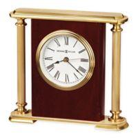 Howard Miller Encore Bracket Tabletop Clock in Rosewood Hall