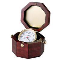 Howard Miller Chronometer Tabletop Clock in Polished Brass