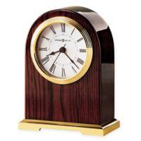 Howard Miller Carter Tabletop Clock in Polished Brass