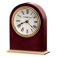 Howard Miller Craven Tabletop Clock in Rosewood