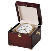 Howard Miller Bailey Tabletop Clock in Rosewood