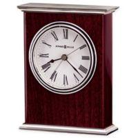 Howard Miller Kentwood Tabletop Clock in Rosewood