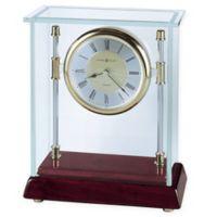 Howard Miller Kensington Tabletop Clock in Rosewood