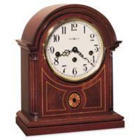 Howard Miller Barrister Mantel Clock in Copley Mahogany