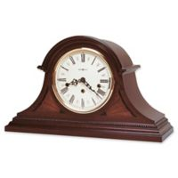Howard Miller Downing Mantel Clock in Copley Mahogany