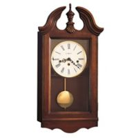 Howard Miller Lancaster Wall Clock in Windsor Cherry