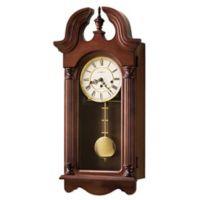 Howard Miller David Wall Clock in Windsor Cherry