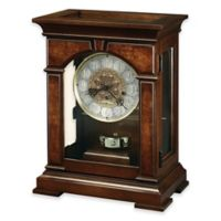 Howard Miller Emporia Mantel Clock in Cherry Bordeaux