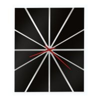 Howard Miller Zander II Wall Clock in Gloss Black