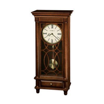 Howard Miller Clock In Lorna Mantel Clock In Tuscany Cherry