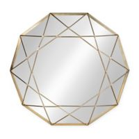 Kate and Kaurel Keyleigh 24-Inch Round Mirror in Gold