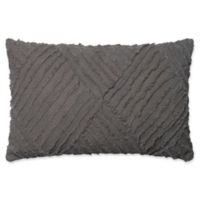 Magnolia Home by Joanna Gaines Evan Oblong Throw Pillow in Grey