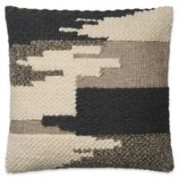 Magnolia Home Manuel Square Throw Pillow in Black