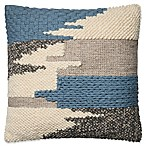 Magnolia Home Manuel Square Throw Pillow in Blue