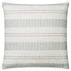 Magnolia Home by Joanna Gaines Isabelle Square Throw Pillow in White/Light Blue