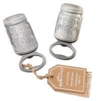 Kate Aspen® Mason Jar Bottle Openers (Set of 6)