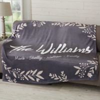 Cozy Home Personalized 50x60 Fleece Blanket