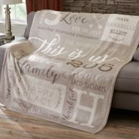 This Is Us Personalized 50x60 Fleece Blanket