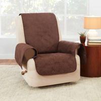 Sure Fit® Waterproof Recliner Furniture Protector in Chocolate