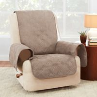 Sure Fit® Waterproof Recliner Furniture Protector in Cement