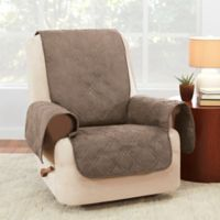 Sure Fit® Waterproof Recliner Furniture Protector in Taupe