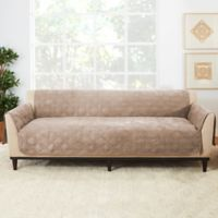 Sure Fit® Sofa Recliner Furniture Protector in Cement