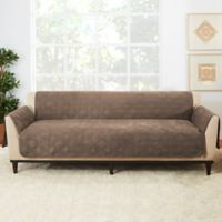 Sure Fit® Sofa Recliner Furniture Protector in Taupe