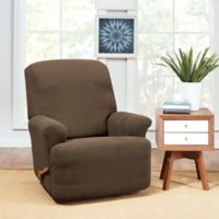 Sure Fit® Hudson Stretch Recliner Slipcover in Taupe