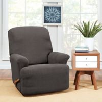 Sure Fit® Hudson Stretch Recliner Slipcover in Grey