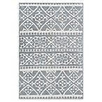 Cambridge 2'3 x 3'6 Accent Rug in Light Grey