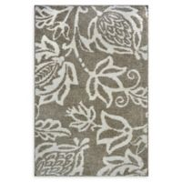 Cambridge Microfiber Loomed 1'8 x 2'8 Accent Rug in Wheat