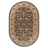 Surya Caesar Classic Hand-Tufted 6' x 9' Oval Area Rug in Brown/Green