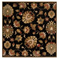 Surya Caesar Classic Hand-Tufted 4' Square Area Rug in Black/Khaki