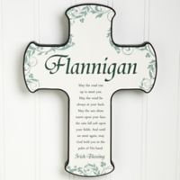 Traditional Irish Blessing Cross