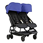 Mountain Buggy® Nano Duo Stroller in Nautical Blue