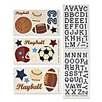 NoJo® Play Ball Wall Decals