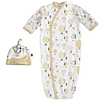 Magnetic Me by Magnificent Baby® Newborn 2-Piece Balloons Gown and Hat Set in Yellow