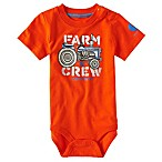 Carhartt® Size 3M Farm Crew Bodysuit in Orange