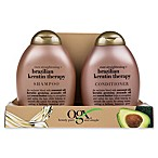 OGX® Value 2-Pack Ever Straight Brazilian Keratin Therapy Shampoo and Conditioner