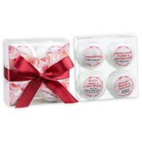 Freida & Joe Aromatherapy Romantic Sensuous 4-Piece Bath Bomb Set