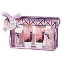 Freida & Joe Rose Champagne Blackberry Bath & Body Gift Bag in Pink