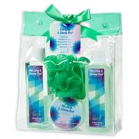 Freida & Joe Nice Lotus & Ginseng Root Spa Bag Gift Set in Green