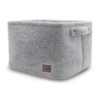UGG® Carson Sherpa Large Storage Tote in Grey