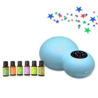 ZAQ Kids' Sky Projector/Essential Oil Diffuser with 6-Piece Aromatherapy Oils Set in Blue