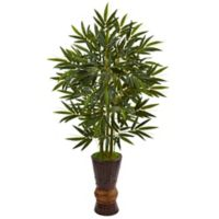 Nearly Natural 5-Foot Bamboo Tree in Bamboo Planter