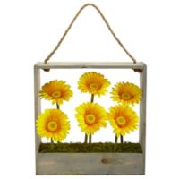 Nearly Natural 12-Inch Gerber Daisy Garden Artificial Arrangement