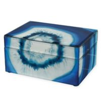 Sterling Industries Marara Jewelry Box in Blue