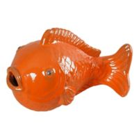 Emissary Big Fish Head Up in Bright Orange