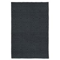 Jaipur Living Flume Trellis 8' x 11' Indoor/Outdoor Area Rug in Dark Blue