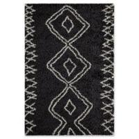 Momeni Maya 9'3 x 12'6 Area Rug in Black